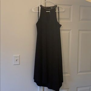 S Black Carmen Marc Valvo dress NWT